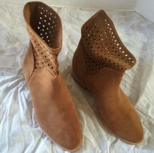 Michael Kors Graham Suede Ankle Boots